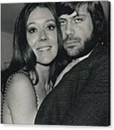 Diana Rigg And Oliver Reed To Star In Film �the Canvas Print