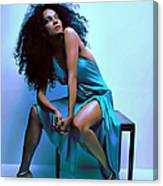 Diana Ross Canvas Print