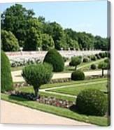 Diane De Poitiers' Gardens Canvas Print