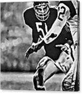 Dick Butkus Canvas Print