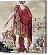 Dictator, 1796 Canvas Print