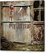 Did You Get My Letter? Canvas Print