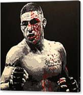 Diego Sanchez - War Canvas Print