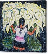 Diego's Calla Canvas Print