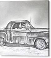 Diehard Dodge Canvas Print