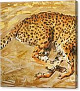 Sprinting Canvas Print