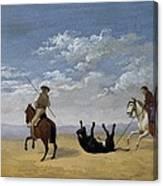 Diez, Joaqu�n 1840. Derribo De La Canvas Print