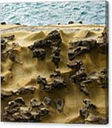 Differential Erosion Canvas Print