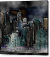 Differentiate New York City Canvas Print