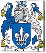 Digby Coat Of Arms Irish Canvas Print