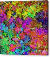 Digiral Abstract Colors Rich Canvas Print