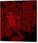 Digital Capone Canvas Print