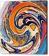 Digital Dunkin Canvas Print