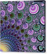 Digital Fractal Artwork Beautiful Colors Canvas Print