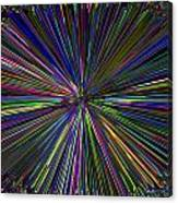Digital Infinity Abstract Canvas Print
