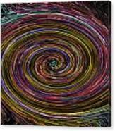 Digital Vortex Canvas Print