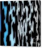 Digital Zebra Coat Canvas Print