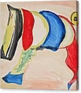 Digitty Dog Canvas Print