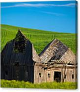Dilapidated Barn Canvas Print