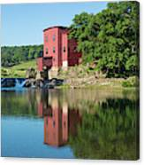 Dillard Mill At Dillard Mill State Canvas Print