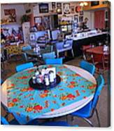 Diner On Route 66 Canvas Print