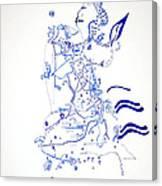 Dinka Embrace Canvas Print