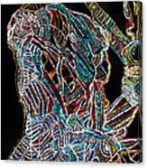 Dinka Warrior Canvas Print