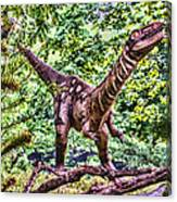 Dino In The Bronx One Canvas Print