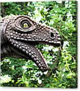 Dino In The Bronx Seven Canvas Print