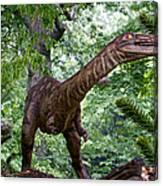 Dino In The Bronx Three Canvas Print