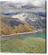 Dinorwig Quarry Lake Canvas Print