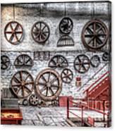 Dinorwig Quarry Workshop Canvas Print