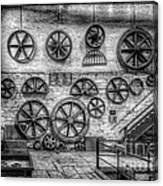 Dinorwig Quarry Workshop V2 Canvas Print
