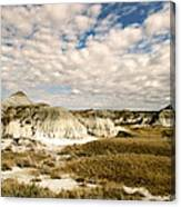 Dinosaur Badlands Canvas Print