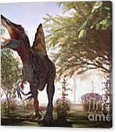Dinosaur Spinosaurus Canvas Print