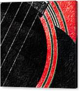 Diptych Wall Art - Macro - Red Section 2 Of 2 - Giants Colors Music - Abstract Canvas Print