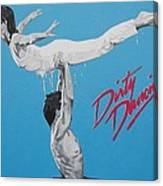 Dirty Dancing The Lift Canvas Print