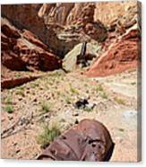 Dirty Devil Mine San Rafael Swell - Utah Canvas Print