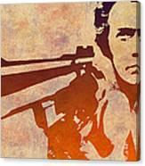 Dirty Harry - 2 Canvas Print