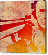 Dirty Harry - 4 Canvas Print
