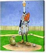 Dirty Pitchers... Canvas Print