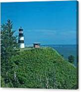 Disappointment Lighthouse In Washington State Canvas Print
