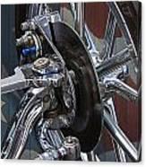 Disc Brakes Hot Rod Canvas Print