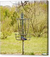 Disc Golf Basket 7 Canvas Print