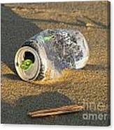 Discarded Energy Drink Can Canvas Print