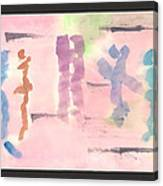 Disco Abstract Canvas Print