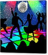 Disco Fever Canvas Print