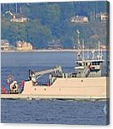 Discovery Bay Military Ops Ship Canvas Print