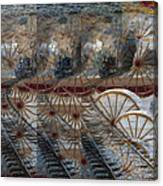 Discovery Of The Wheel Canvas Print