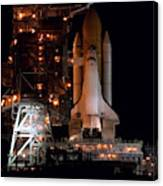Discovery Space Shuttle Canvas Print